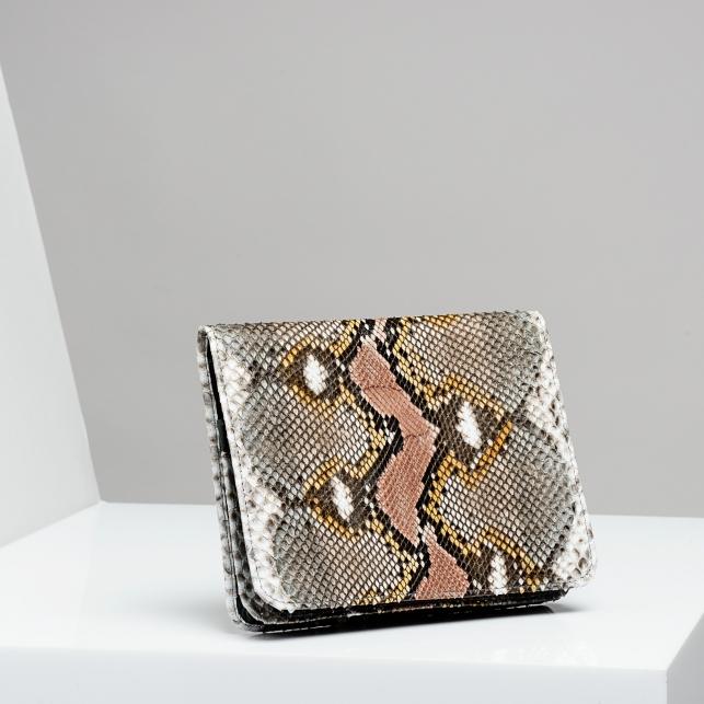 Claris Virot: Pochette Roland Grey Painted - Hiphunters Shop