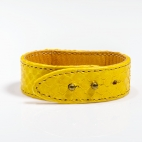 Claris Virot: Python Bracelet Yellow    Jewelry,Jewelry > Bracelets -  Hiphunters Shop