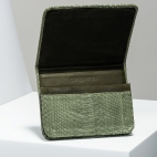 Claris Virot: Clutch Roland Khaki  | Bags,Bags > Clutches -  Hiphunters Shop