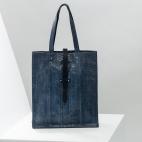 Claris Virot: Tote Bag Georgia Navy | Bags,Bags > Totes -  Hiphunters Shop