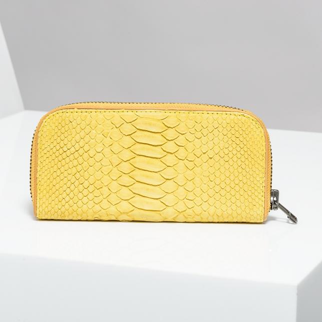 Claris Virot: Yellow Donald Wallet - Hiphunters Shop