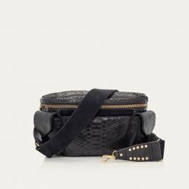 Black Python Funny Bag Jules