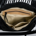 Claris Virot: India Navy Fringes Bag | Bags,Bags > Shoulder Bags -  Hiphunters Shop