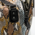 Claris Virot: Bag Lalya Grey Painted | Bags,Bags > Shoulder Bags -  Hiphunters Shop