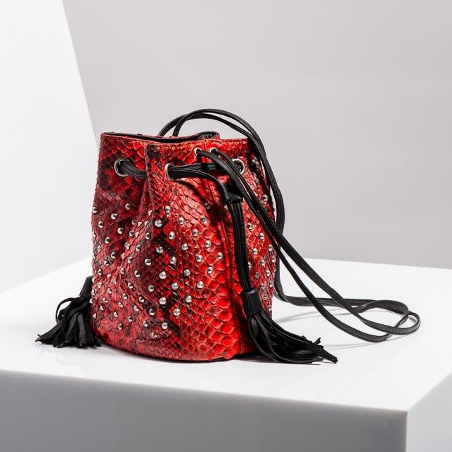 Claris Virot: Bucket Bag Mary Pimento  - Hiphunters Shop
