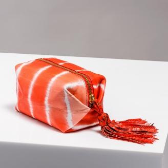 Trousse Paulette Tie & Dye Piment