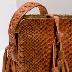 Claris Virot: Shoulder Strap Chiara Bag Moka | Bags,Bags > Shoulder Bags -  Hiphunters Shop