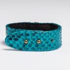 Claris Virot: Python Bracelet Turquoise | Jewelry,Jewelry > Bracelets -  Hiphunters Shop