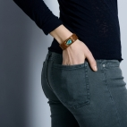 Claris Virot: Python Bracelet Diamond   Jewelry,Jewelry > Bracelets -  Hiphunters Shop