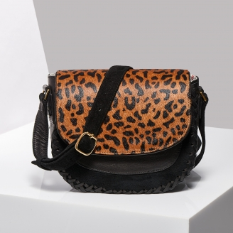 Sac Besace Andrea Leopard