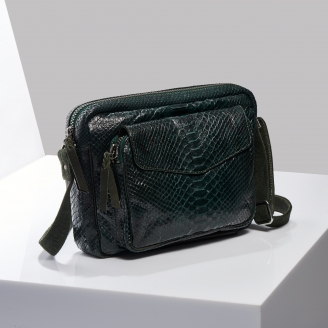 Sac Bandoulière Python Big Charly Green Forest