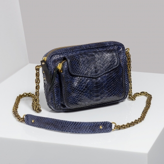 Sac  Python Charly Electric Blue