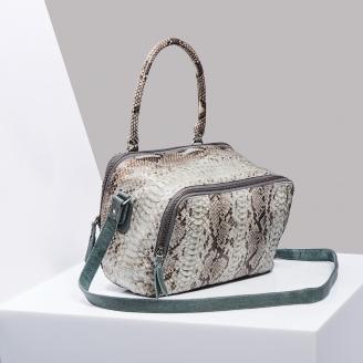 Python Shoulder Bag Lalya Glacial