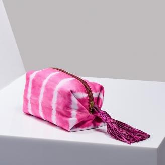 Trousse Paulette Tie & Dye Rose