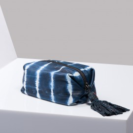 Trousse Paulette Tie & Dye Bleu