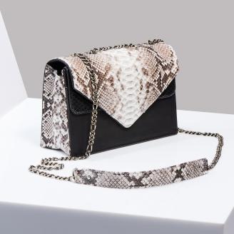 Sac Python Victoria Diamond Noir