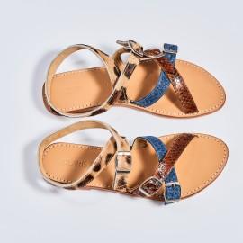 Sandales Fanny Tricolore