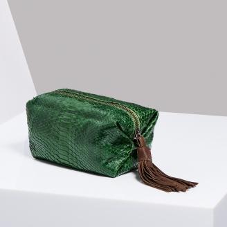 Trousse Paulette Matcha Vert