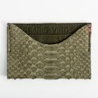 Claris Virot: Cardholder Manu khaki  | Accessories,Accessories > Wallets -  Hiphunters Shop