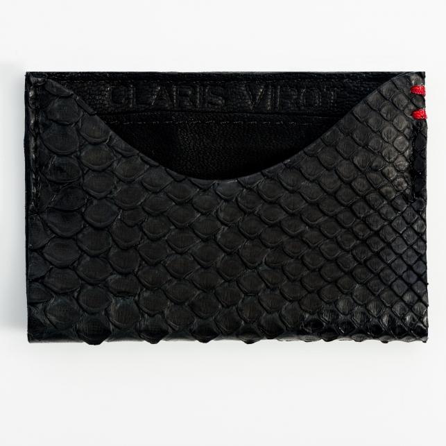 Claris Virot: Cardholder Manu Black - Hiphunters Shop