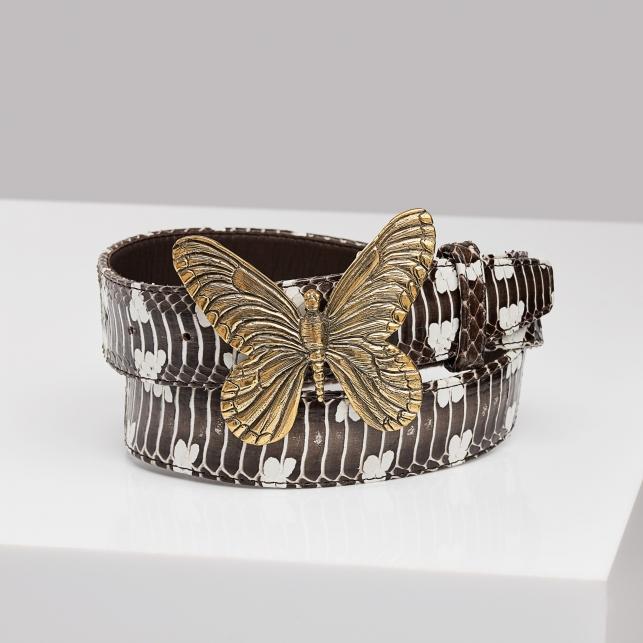 Ceinture Papillon Serpent D'eau