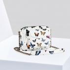 Sac Python Charly Blanc Papillon