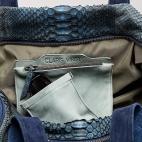 Sport Bag Python Lionel Denim