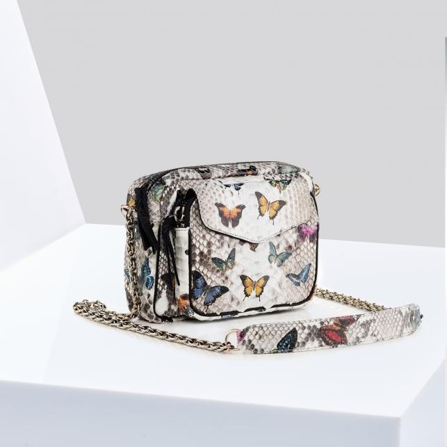 Sac Python Charly Papillon Diamond