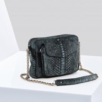 Bag Big Charly Denim With Chain