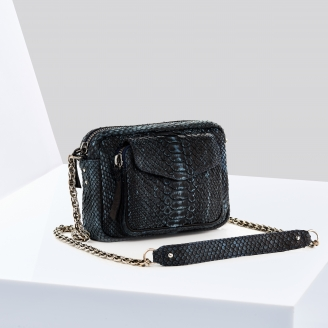 Sac Python Charly Denim