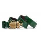 Matcha Python Beatle Belt