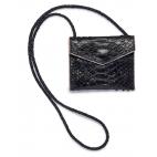 Black Python Card Holder Sasha
