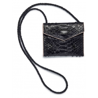 Black Python Card Holder Sasha