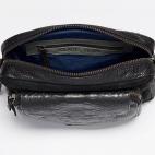 Black TriMat Python Charly Bag