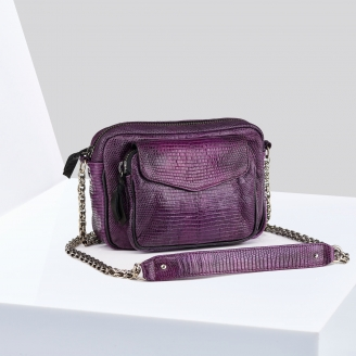 Sac Lézard Charly Violet