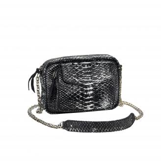 Bag Charly Black Platinum Python
