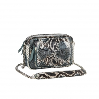 Bag Charly New Grey Painted Python