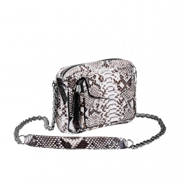 Sac Python Charly Diamond Chaine Argent