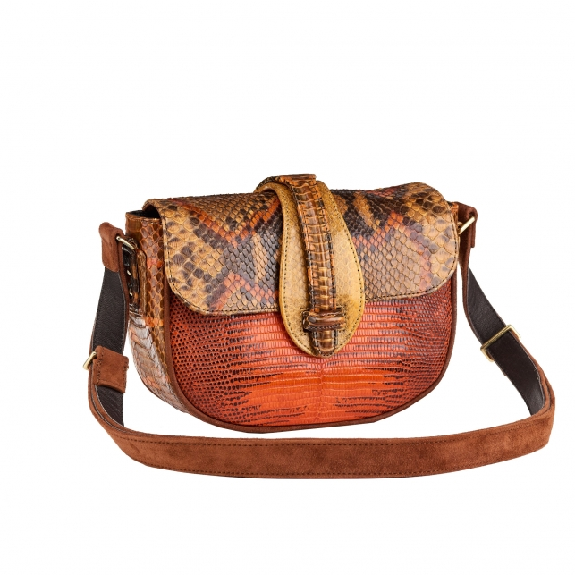 Sac Python Andrea Tricolore Orange