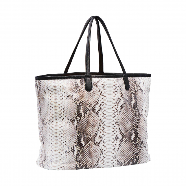 Diamond Python Tote Bag Marny