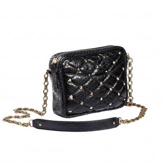 Bag Python Kate Black