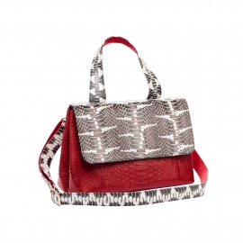 Bag Mimi Red Watersnake