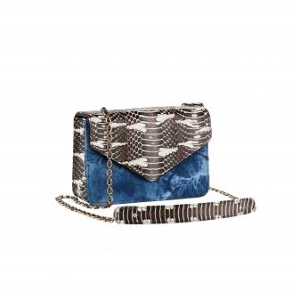 Python Tricolor Romy Bag