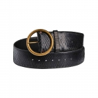 Black Python Belt Emma