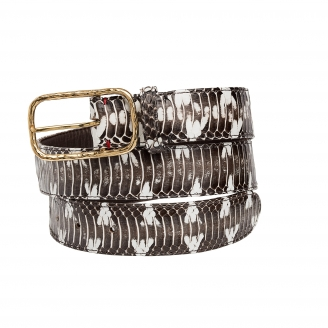 Watersnake Belt Clyde golden buckle