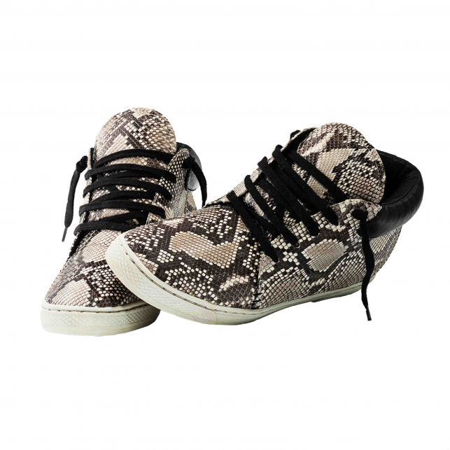 Sneakers Lenny Python Diamond Homme