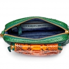 Tricolore Matcha Orange Bag Python Charly