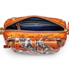 Sac Python Charly Orange painted