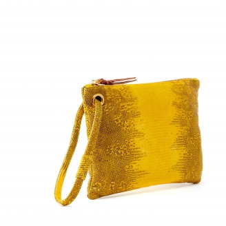 Lizard Clutch Elen Yellow S