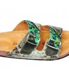 Sandales Odette Celadon Ecailles